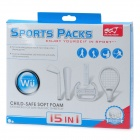 15-in-1 Super Value Sports Controllers Kit for Wii