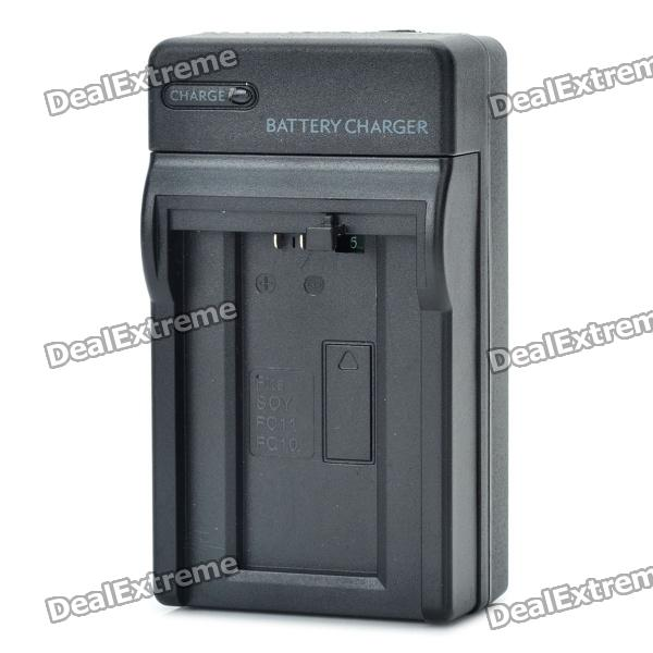 Camera Battery Charger for Sony FC10 / FC11 (AC 100~240V / 2-Flat-Pin Plug)