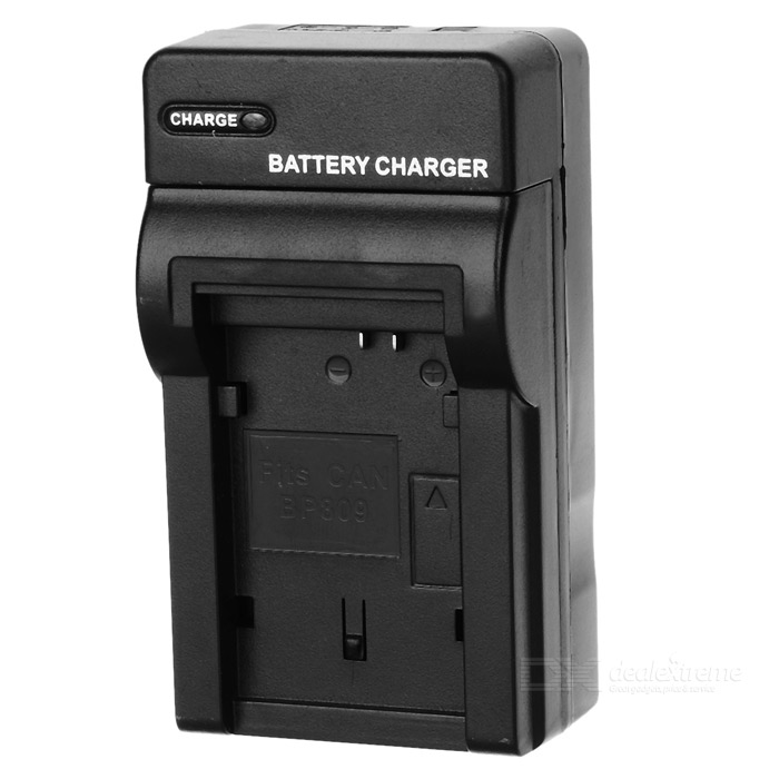 Camera Battery Charger for Canon BP808 / BP809 / BP819 (AC 100~240V / 2-Flat-Pin Plug)