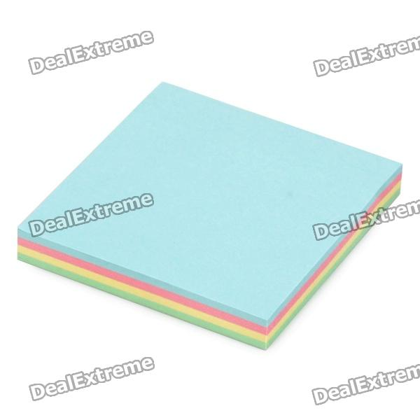 Convenient Square Sticky Note Memo Pads (Around 100-Sheet) never rose gold sticky notes and memo pads set cute post note paper notepads set fashion office accessories stationery store