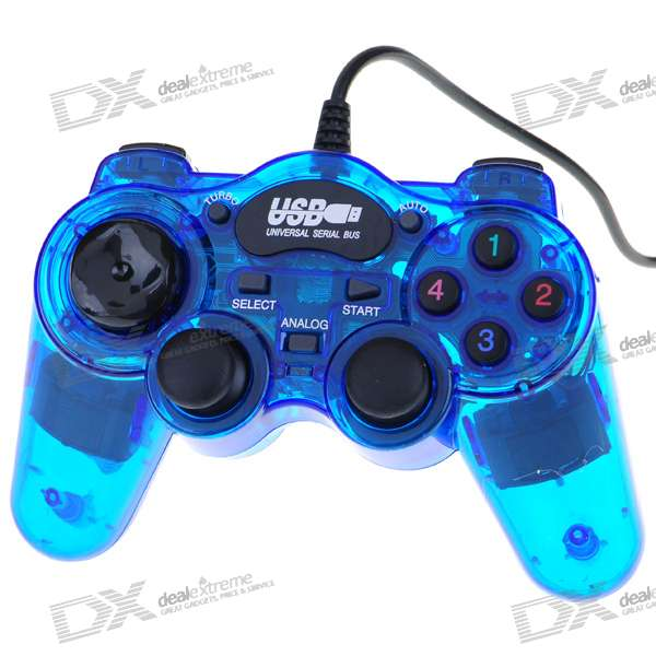 Usb Dual Shock Game Controller Joypad For Pc Free