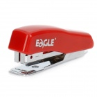 Mini Stainless Steel Stapler - Red + Silver (#10 Staples)