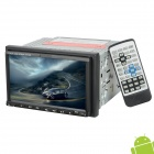 "7"" TFT Resistive Android 2.0 Car DVD Player w/ Bluetooth / Wi-Fi / GPS / TV / DVB-T Antenna - Black"