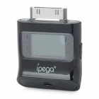 "iPega 0.9"" LCD Digital Alcohol Tester for iPhone / iPad / iPod - Black"
