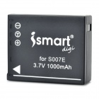 ISMARTDIGI Replacement S007E 3.7V 1000mAh Battery for Panasonic BMC-TZ4 / DMC-TZ4K + More