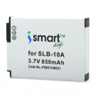 ISMARTDIGI Replacement SLB-10A 3.7V 850mAh Battery for Samsung ES60 / PL51 / PL55 / PL70 / WP10
