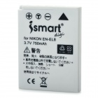 ISMARTDIGI Replacement EN-EL8 3.7V 750mAh Battery for Nikon Coolpix S51c / S52c