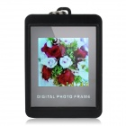 "1.4"" LCD Square Digital Photo Frame Keychain - Black (128 x 128 / 16MB)"