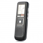"1.2"" LCD Digital Voice Recorder with FM & MP3 Player Function - Black (4GB / 2 x AAA)"