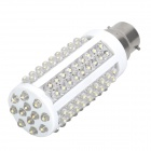 B22 7.5W 3000~3500K 720~840-Lumen 120-LED Warm White Light Bulb (AC 220~240V)