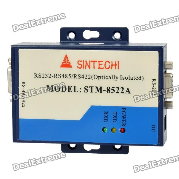 Industrial Control Dual-Channel RS-232 to RS-485 converter industrial grade port powered serial interface converter from rs232 to rs485 with 600w surging protection 232 to 485 485 to 232