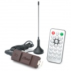 Chocolate Bar Style USB 2.0 DVB-T Receiver - Coffee