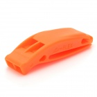 Mini Portable Dual-band Whistle - Orange