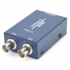 G.703 Balun BNC 75Ohm to RJ-45 120Ohm Ethernet Adapter - Dark Blue