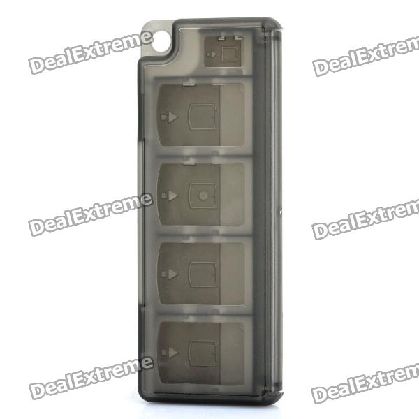 Protective Game Card Cartridge Cases for PS Vita - Translucent Black