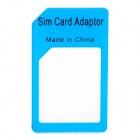Micro SIM-карты в стандартный SIM Card адаптер для Iphone 4 / Ipad - Синий
