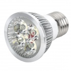E27 4W 360~400LM 5500~6000K White 4-LED Spot Light Bulb (AC 85~265V)