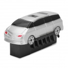 Mini Vibrate Moving Multiped Vehicle Toy - Silver (1 x LR44)