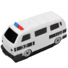 Mini Vibrate Moving Multiped Toy Car Vehicle - White (1 x LR44)