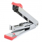 Portable Mini Steel Stapler - Red + Silver