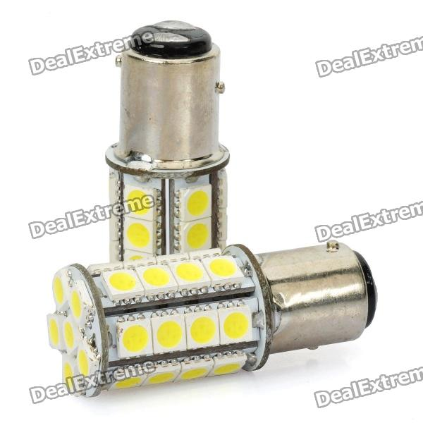 1157 BAY15D 5050 34-SMD 4W 6500K 360lm LED Car Light Bulbs (DC 12V)