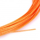 Replacement Fibre String for Badminton Racket - Orange (0.7mm Diameter / 10m-Length)