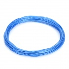 Replacement Fibre String for Badminton Racket - Blue (0.7mm Diameter / 10m-Length)