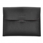 Lichee Pattern Protective Carrying Bag for Apple iPad2 / the New iPad - Black