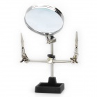 LODESTAR Helping Third Hand Soldering Stand w/ 2X Magnifying Glass