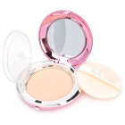 M.Rui Cosmetic Makeup Pressed Powder with Sponge Puff & Mirror - Rosy