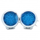 Einstellbare Super Bright LED 2.4W 15-Blau Tagfahrlicht (Pair / 190cm-Kabel)