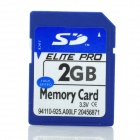 SD Memory card - Blue (2GB)
