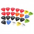 0.58/0.71/0.81mm Guitar Picks (24-Piece)