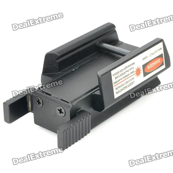 Adjustable Red Laser Gun Aiming Sight for 21mm Rail (2 x AG10)
