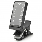 Clip-On LED Electronic Guitar Tuner - Black (1 x CR2032)