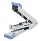 Portable Mini Steel Stapler - Blue + Silver