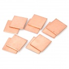 Cooling Heatsink Copper Pad Shims for HP DV2000 / DV3000 / DV9000 - Golden (10-Piece Pack)