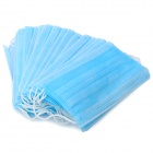 Disposable Medical Mouth Mask - Blue (20-Piece)