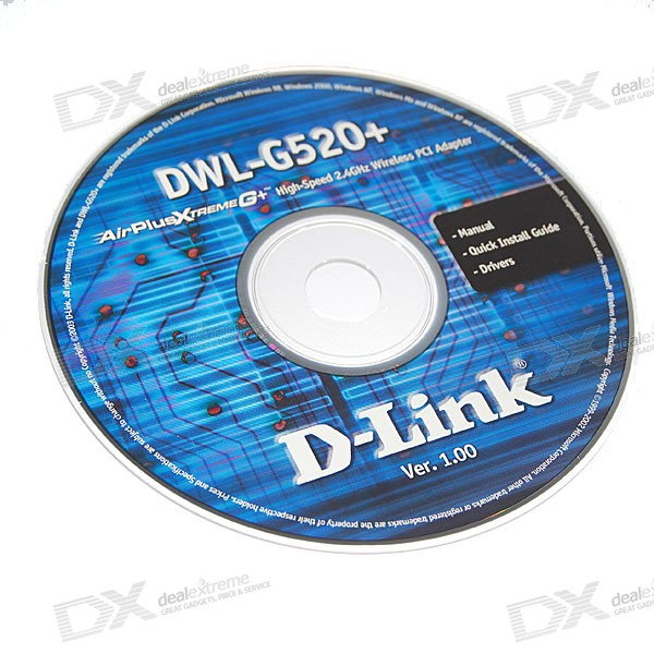 D Link Airplus Dwl G520 Driver