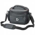 Protective Nylon Fabric One-Shoulder Bag for Nikon DSLR D700 / D5000 / D90 / D300 + More - Black