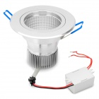 3W 135-165LM 635-650nm 1-LED Red Light Down Lamp with Driver (100-240V)