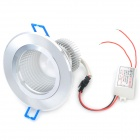 1.3W 585~595nm 165LM 1-LED Yellow Light Ceiling Down Lamp (AC 85~265V)