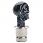 Cool Skull Head Style Car Cigarette Lighter - Black (DC 12V)