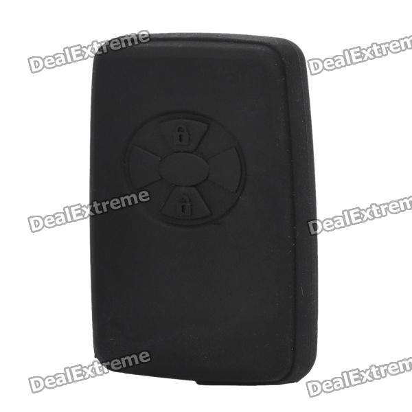 Protective Silicone Case for Toyota / Lexus 2-Button Remote Key - Black