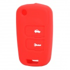 Protective Silicone Case for Chevrolet Epica 2-Key Remote Key - Red
