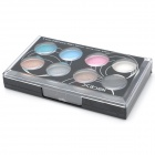 8 Colors Make-Up Powder Set w/ Comestic Mirror