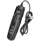 "1.0 ""LCD Wired Timer Remote Control Shutter Release para Canon 7D / 50D / 40D / 30D + More (1xCR2032)"