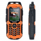 "RESWAY T99 Ultra-Rugged Handy GSM w / 2,0 ""-LCD, Quad-Band, Dual-SIM-und FM - Orange (1 GB TF)"