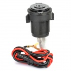 Vehicle Car DIY Cigarette Lighter Socket (12V / 15A)