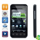 "B2000 Android 2.3 WCDMA Smart Phone w/4.0"" Capacitive, Dual SIM, Wi-Fi and GPS - Black"